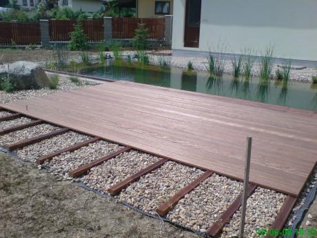 Dřevěné terasy montáž